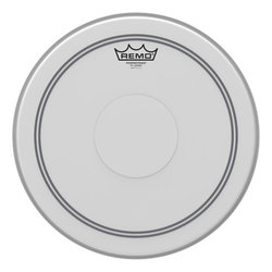 Remo Powerstroke P3 Coated Drumhead - Top Clear Dot, 13