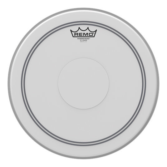 View larger image of Remo Powerstroke P3 Coated Drumhead - Top Clear Dot, 14