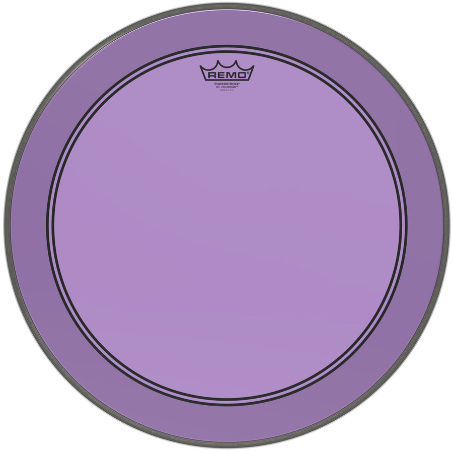 View larger image of Remo Powerstroke P3 Colortone Drumhead - 20, Purple