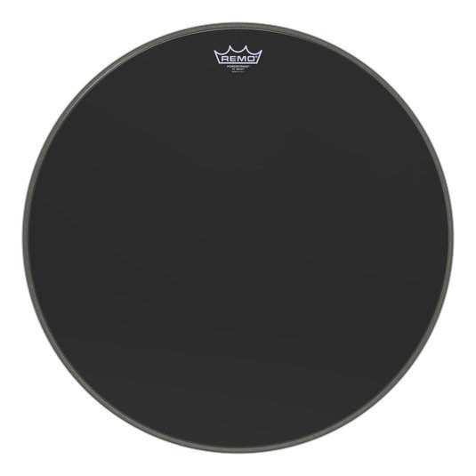 View larger image of Remo Powerstroke P3 Ebony Bass Drumhead - 22
