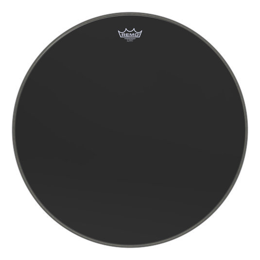 View larger image of Remo PowerStroke P3 Ebony Bass Drumhead - 26