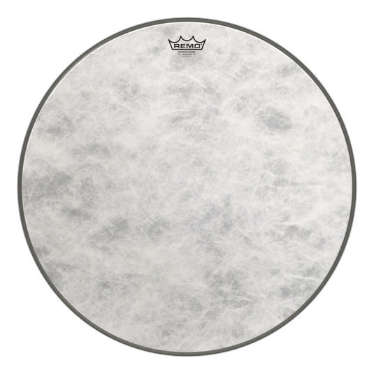 View larger image of Remo PowerStroke P3 Fiberskyn Bass Drumhead - 24