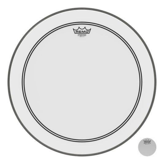 View larger image of Remo PowerStroke P3 Smooth White Bass Drumhead - 20