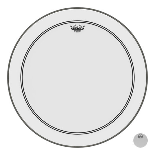 View larger image of Remo PowerStroke P3 Smooth White Bass Drumhead - 24