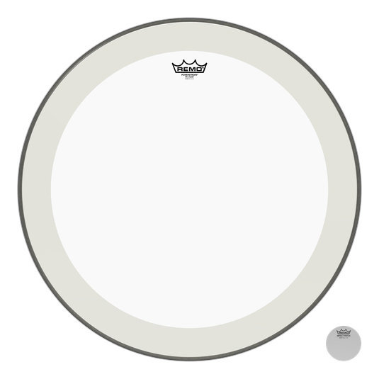 View larger image of Remo Powerstroke P4 Clear Bass Drumhead - 24