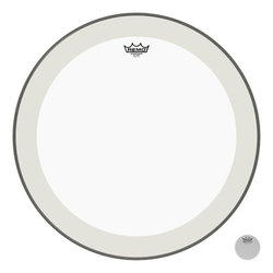 Remo Powerstroke P4 Clear Bass Drumhead - 24