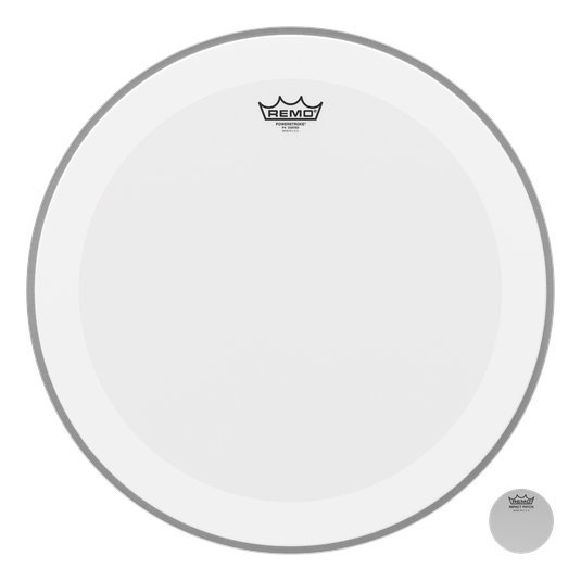 View larger image of Remo Powerstroke P4 Coated Bass Drumhead - 22