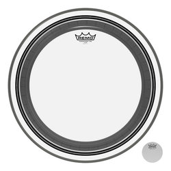 Remo Powerstroke Pro Clear Bass Drumhead - 24