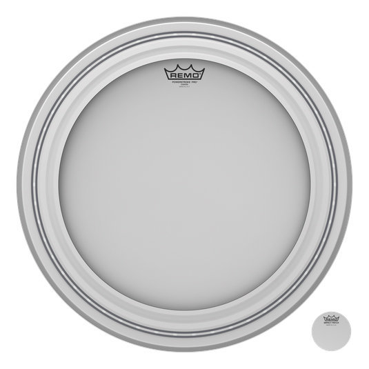 View larger image of Remo Powerstroke Pro Coated Bass Drumhead - 20