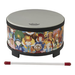 Remo Rhythm Club Floor Tom Drum - Rhythm Kids, 10