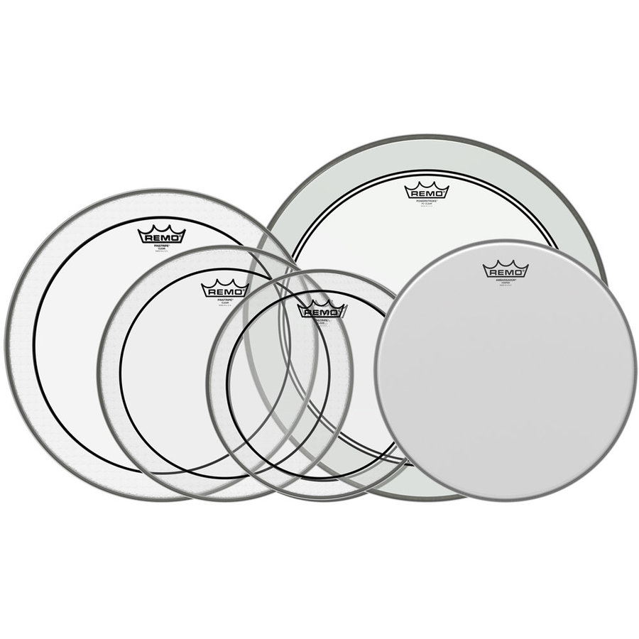 View larger image of Remo Rock ProPack Drumheads - 12,13,14,16,22