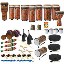 Remo World Music Drumming Drum Pack - Package A
