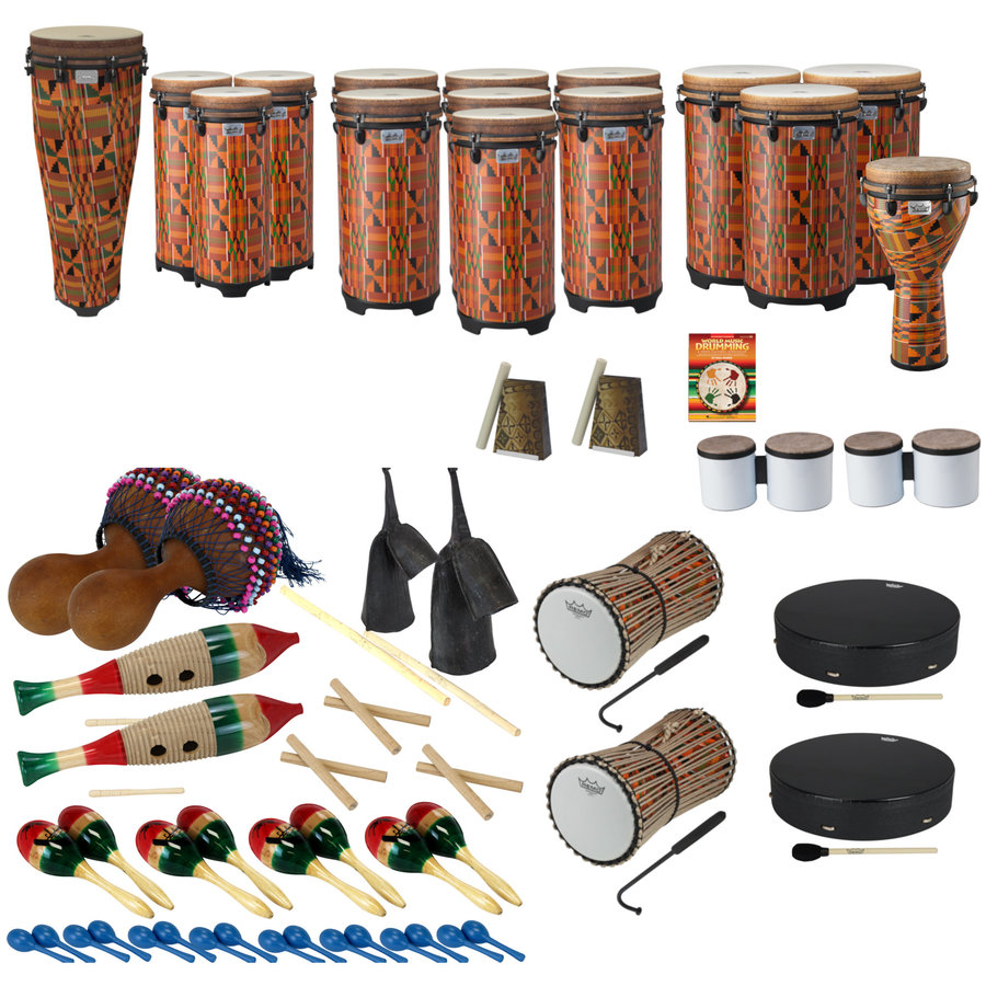 View larger image of Remo World Music Drumming Drum Pack - Package B