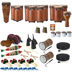 Remo World Music Drumming Drum Pack - Package C