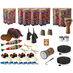 Remo World Music Drumming Drum Pack - Package E