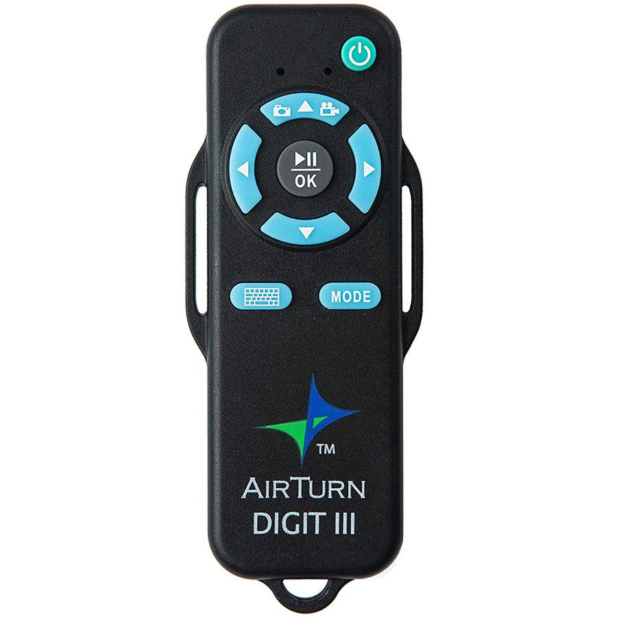 View larger image of AirTurn Digit III Handheld Bluetooth Remote