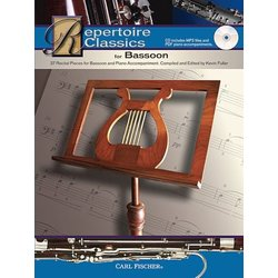 Repertoire Classics, Music and CD for Bassoon