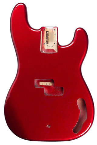 View larger image of Replacement Body for P Bass - Candy Apple Red