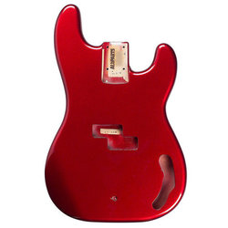 Replacement Body for P Bass - Candy Apple Red