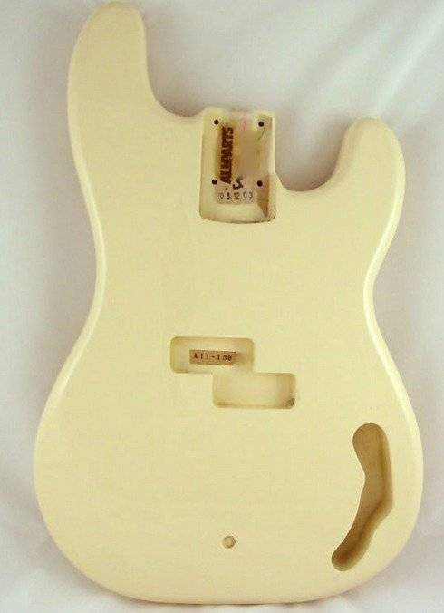 View larger image of Replacement Body for Precision Bass - Olympic White