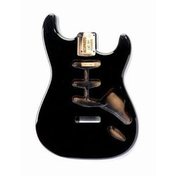 Replacement Body for Stratocaster - Black