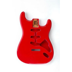 Replacement Body for Stratocaster - Fiesta Red