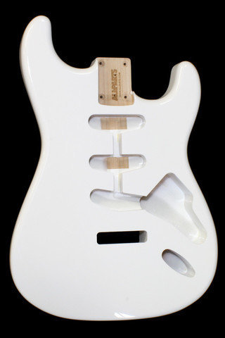 View larger image of Replacement Body for Stratocaster - Olympic White