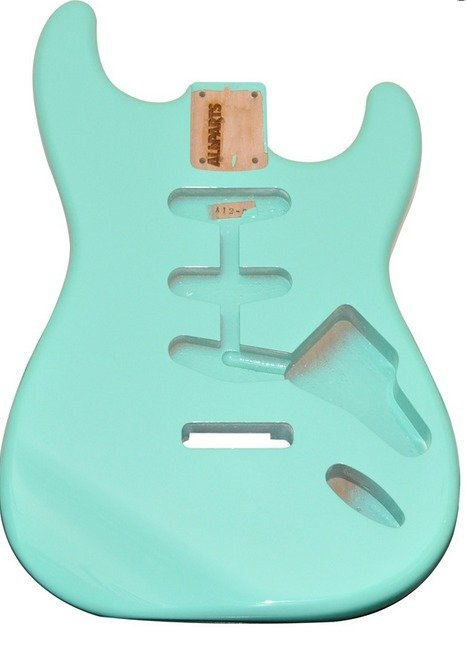 View larger image of Replacement Body for Stratocaster - Seafoam Green