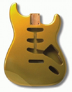 View larger image of Replacement Body for Stratocaster - Shoreline Gold