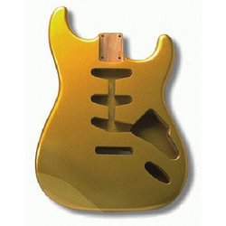 Replacement Body for Stratocaster - Shoreline Gold