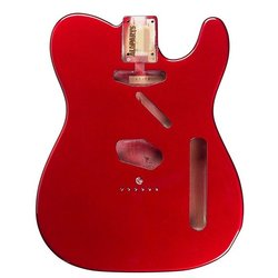 Replacement Body for Telecaster - Candy Apple Red