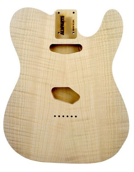 View larger image of  Replacement Body for Telecaster - Flame Alder