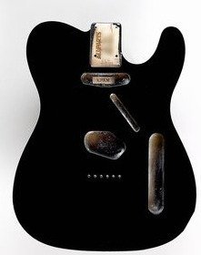 View larger image of Replacement Body for Telecaster with Binding - Black