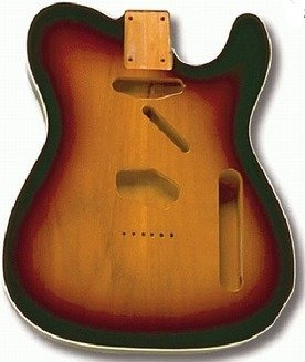 View larger image of Replacement Body for Telecaster  With Binding - Sunburst