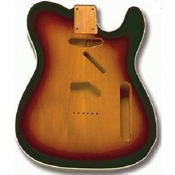 Replacement Body for Telecaster  With Binding - Sunburst