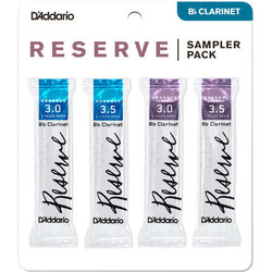 Reserve Reed Bb Clarinet Sampler Pack - #3/3-1/2, 4 Pack