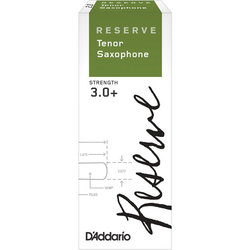 Reserve Tenor Saxophone Reeds - #3+, 2 Pack