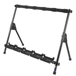 Reunion Blues RBXS Multi-Guitar Stand for 5 Guitars