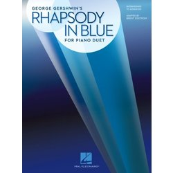 Rhapsody In Blue For Piano Duet (1P4H)