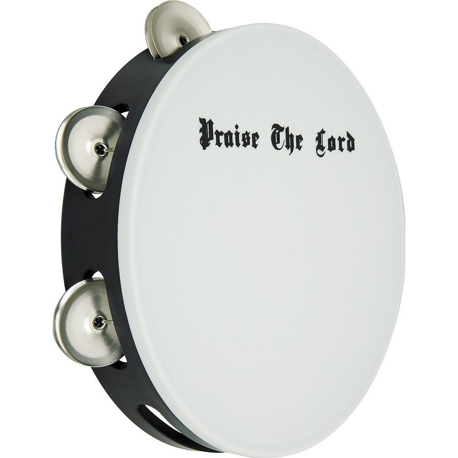 View larger image of Rhythm Band AST1100 Economy Scripture Praise the Lord Tambourine - 8