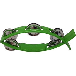 Rhythm Band Littlefish Tambourine - Green