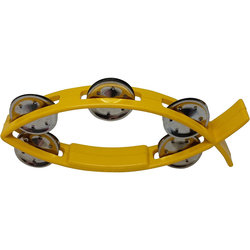 Rhythm Band Littlefish Tambourine - Yellow
