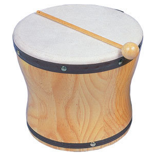 View larger image of Rhythm Band RB1025 Large Hand Bongo with Mallet