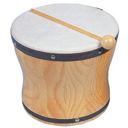 Rhythm Band RB1025 Large Hand Bongo with Mallet