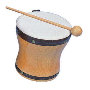 View larger image of Rhythm Band RB1025A Small Hand Bongo with Mallet
