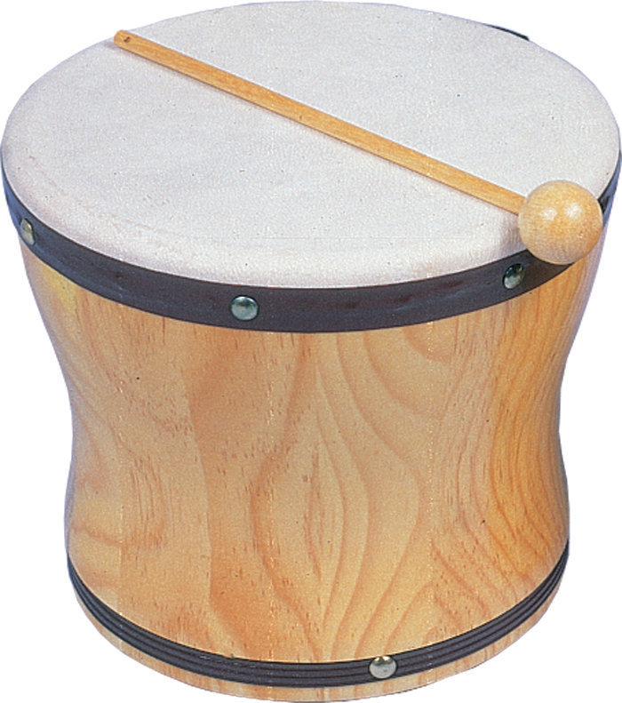 View larger image of Rhythm Band RB1025B Medium Hand Bongo with Mallet