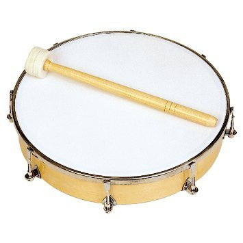 View larger image of Rhythm Band RB1180 10 Tunable Hand Drum - 8 Tuners with Mallet