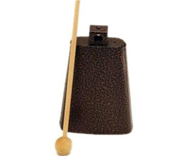 View larger image of Rhythm Band RB1221 5 3/4 Cowbell with Mallet - Nickel Colour