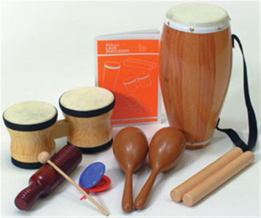 View larger image of Rhythm Band RB1450 Elementary Latin Percussion Kit
