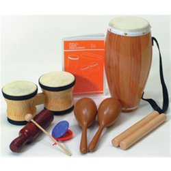 Rhythm Band RB1450 Elementary Latin Percussion Kit